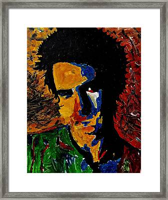 Young Sid Vicious Framed Print