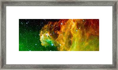Young Stars Emerge From Orion's Head Framed Print