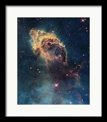 Satellite View Framed Prints