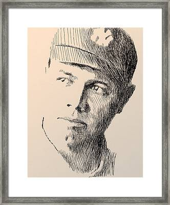 Young Sultan Of Swat Framed Print by Robbi  Musser