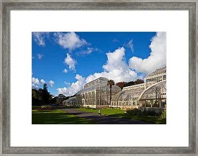Young Toddler By The Mid-nineteenth Framed Print