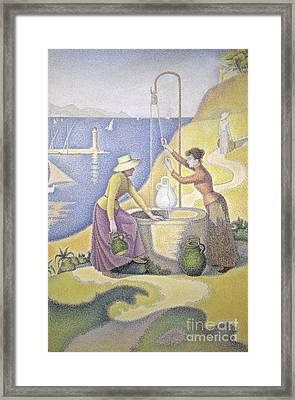 Young Women Of Provence Framed Print