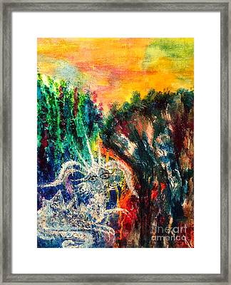 Youngling Framed Print