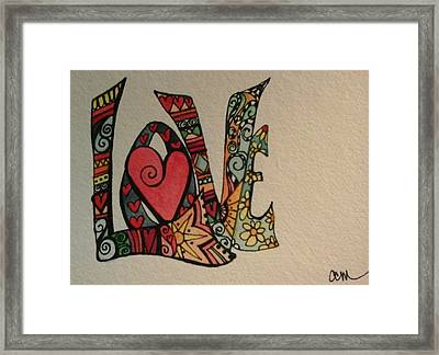 Your Big Heart Framed Print