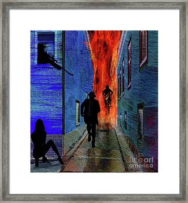 Your Fired Framed Print by Sydne Archambault