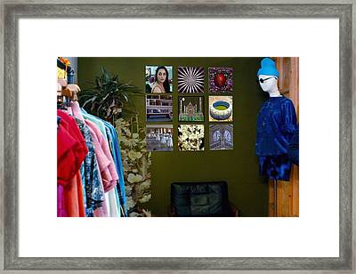 Your Garage Fashion Couture Botique  Framed Print
