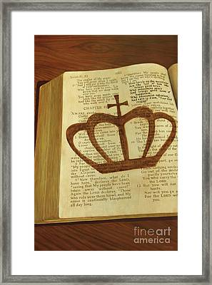 Your God Reigns Framed Print