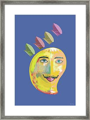 Your Highness A Framed Print by Thecla Correya