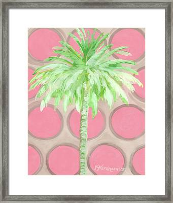 Your Highness Palm Tree Framed Print