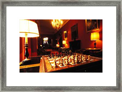 Your Move Framed Print by Carl Purcell