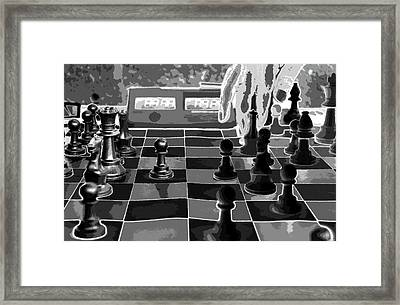 Your Move Framed Print by David Lee Thompson