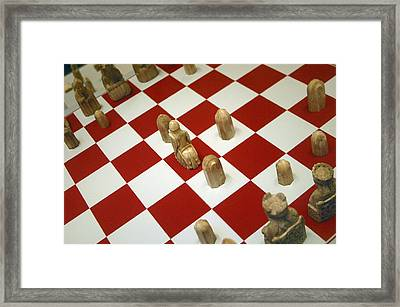 Your Move Framed Print by Jez C Self
