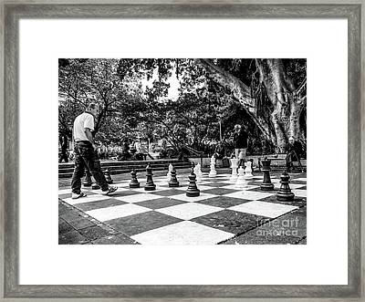 Your Move Framed Print by Lexa Harpell