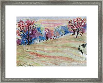Your Otherworld Framed Print by Lucinda  Hansen