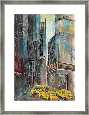 Your Own Broadway Framed Print