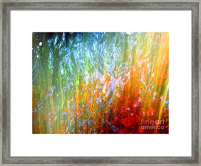 Your Own Dance Framed Print by Sybil Staples