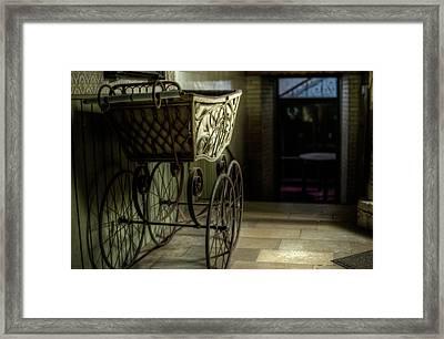 Your Pram Awaits Framed Print