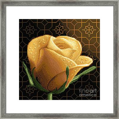 Your Rose Framed Print