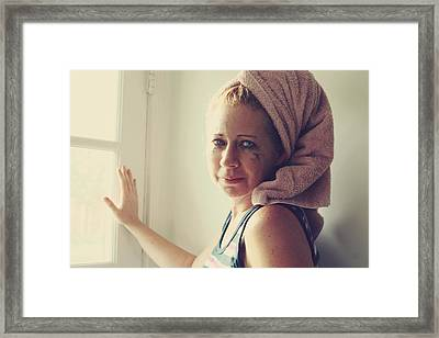 Your Sorrow Shows Framed Print by Laurie Search