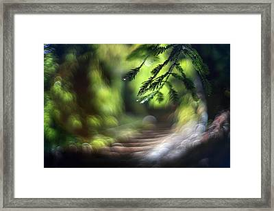 Framed Print featuring the photograph Your Stairway Lies On The Whispering Wind by Quality HDR Photography