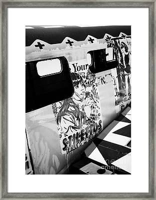 Framed Print featuring the photograph Your Stilletos by Chris Dutton