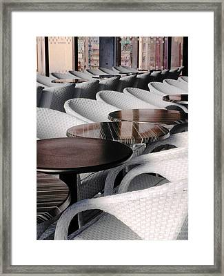 Your Table Is Ready Framed Print
