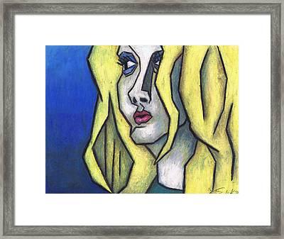 You're Beautiful Framed Print by Kamil Swiatek