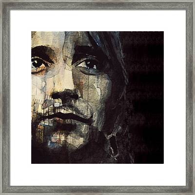 You're In My Heart  Framed Print by Paul Lovering
