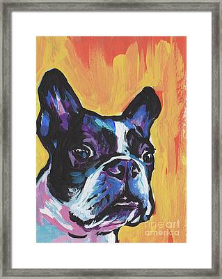 You're My Boss Framed Print by Lea