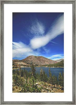 You're The Inspiration Framed Print
