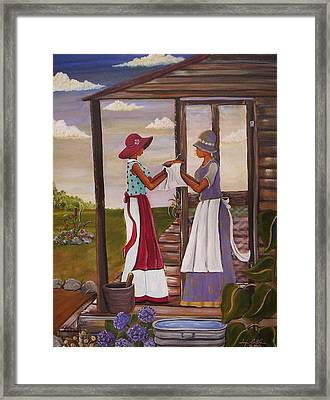 The Welcome Framed Print