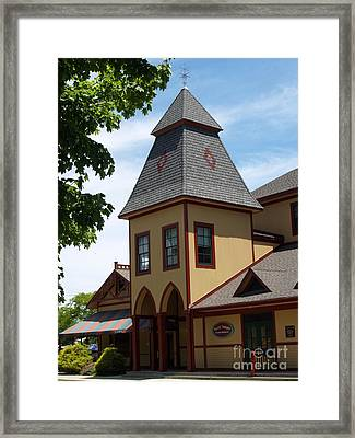 Youth Temple Of Ocean Grove New Jersey Framed Print