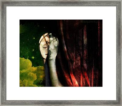 You...with The Clouds In Your Eyes Framed Print