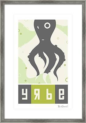Yrbe Framed Print by Bill ONeil