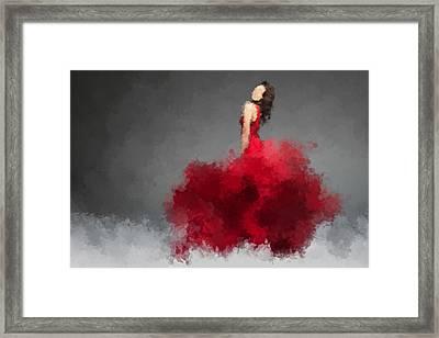 Ysabel Framed Print by Nancy Levan