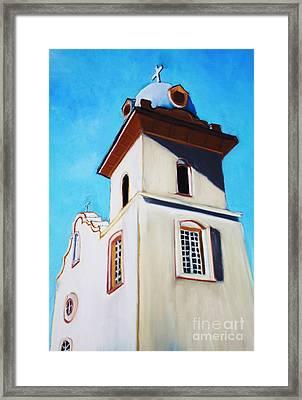 Ysleta Mission Framed Print