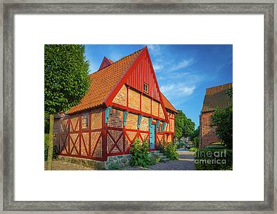 Ystad Old House Framed Print