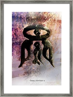Yu Yevon Framed Print