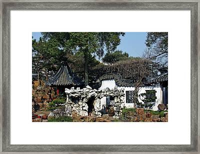 Yu Yuan Garden Shanghai Framed Print by Christine Till