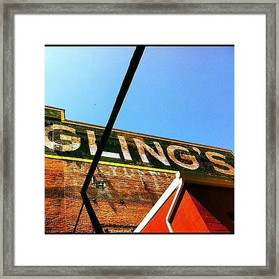 Yuengling's Framed Print
