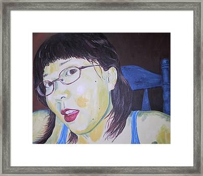 Yuka Framed Print by Kevin Callahan
