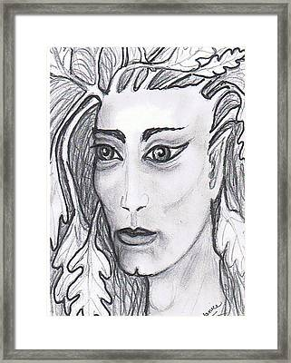 Yukeo Lord Of The Forest Framed Print