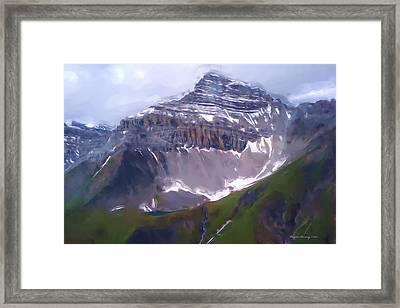 Yukon Nwt 1 Framed Print by Wayne Bonney