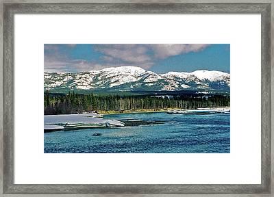 Yukon River Framed Print