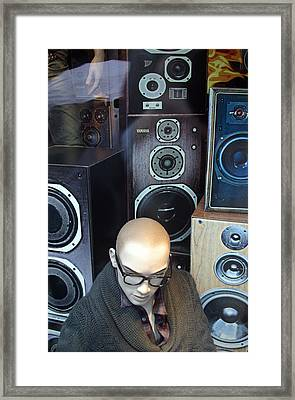 Yul Love The Sound Of These Framed Print by Jez C Self