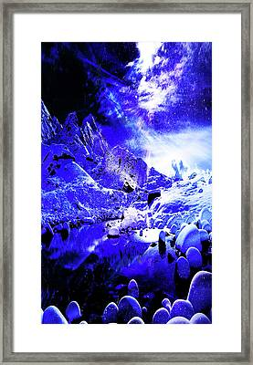 Yule Night Dreams Framed Print