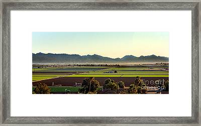 Yuma Valley Framed Print
