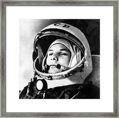 Yuri Gagarin 1934-1968., Russian Framed Print