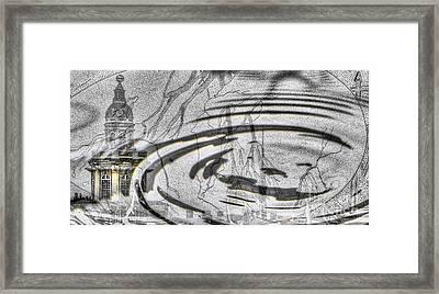 Yury Bashkin My Rain City Framed Print