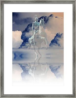 Yury Bashkin The Reflection Of The Emperor Framed Print